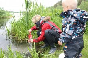 Oppdrag økosystem på norgesglass fra Østensjøvannet