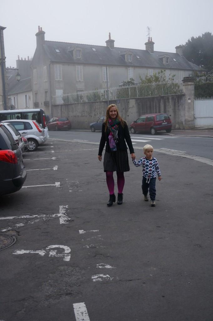Byvandring i morgentimene i Bayeux
