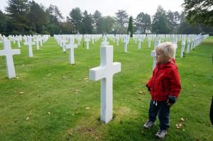 Det amerikanske krigsminnesmerke gjorde stort inntrykk